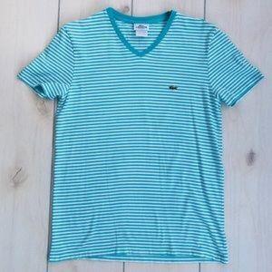 Lacoste VNeck Short Sleeve TShirt